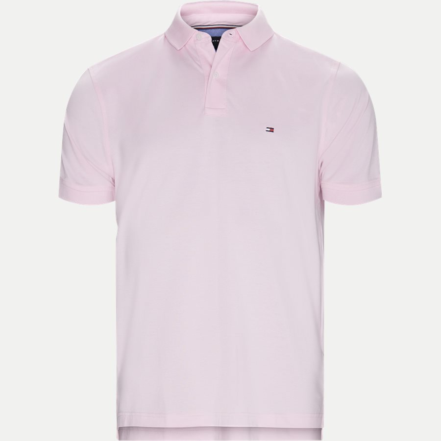 TOMMY REGULAR POLO - Core Tommy Regular Polo - T-shirts - Regular - LYS RØD - 1